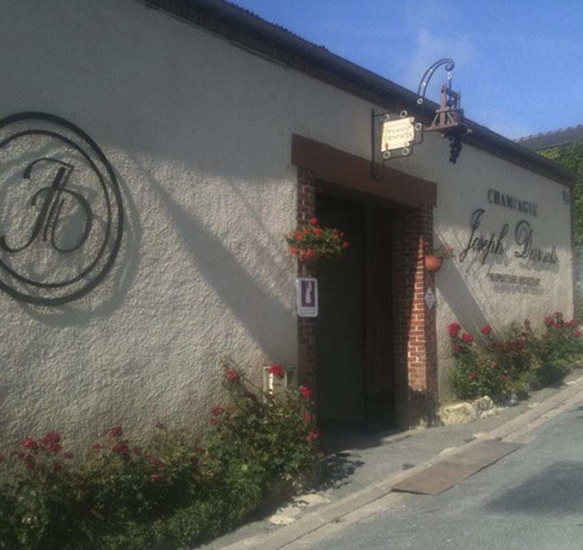 Enseigne vigneronne à Hautvillers ©PNRMR