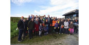 Opération de nettoyage des villages et coteaux du vignoble champenois
