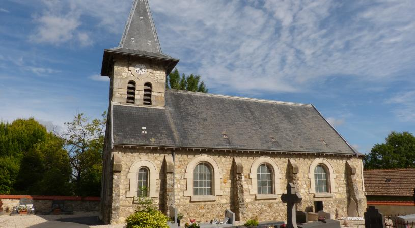 Eglise de Bligny. Coll. PNRMR