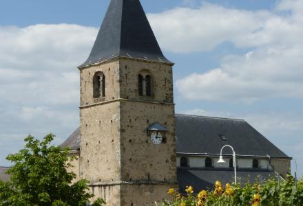 Eglise de Chigny-les-Roses. Coll. PNRMR