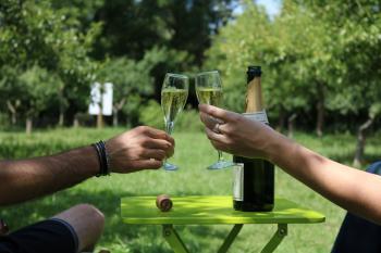 Dégustation de Champagne ©PNRMR