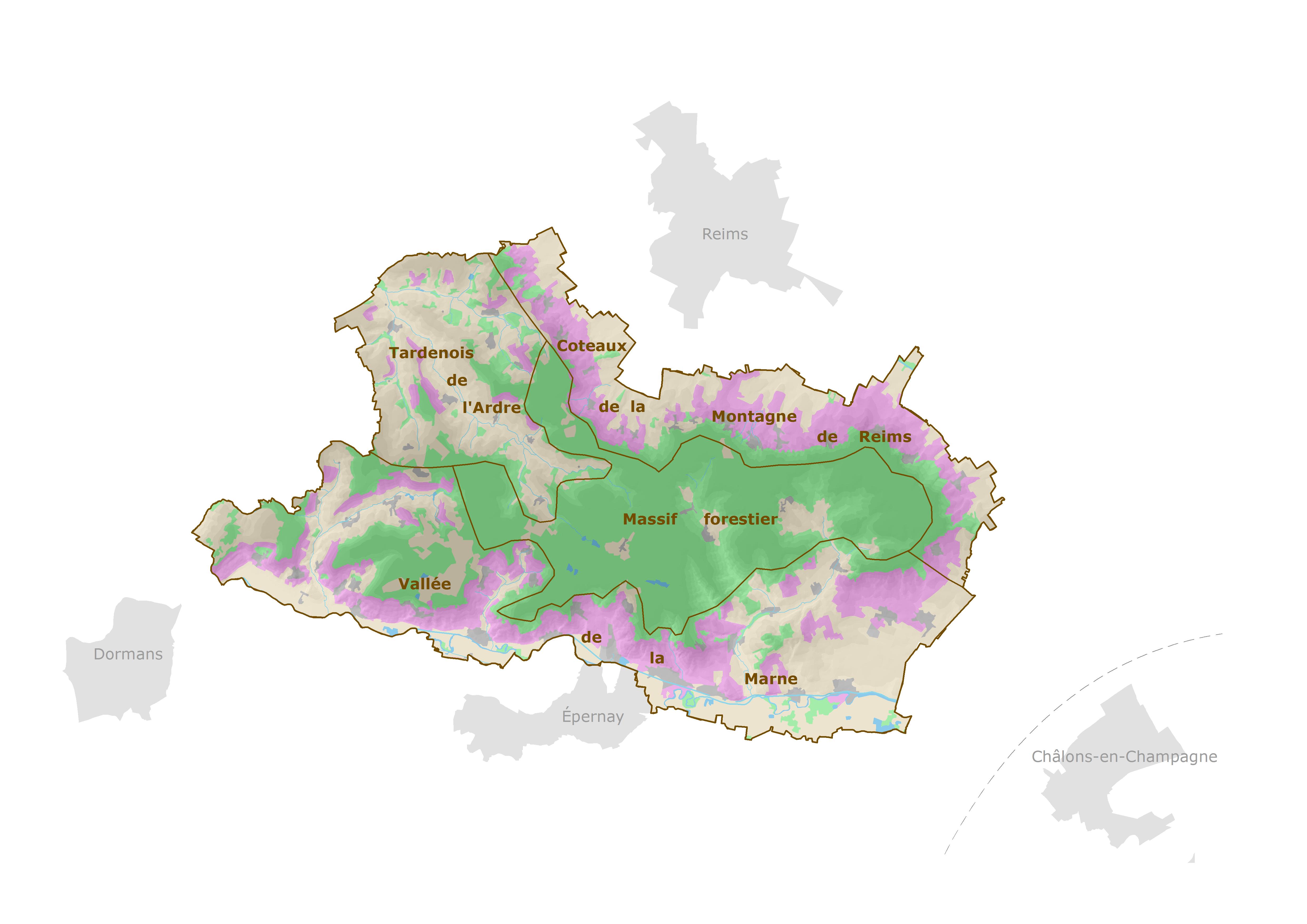 4 natural regions