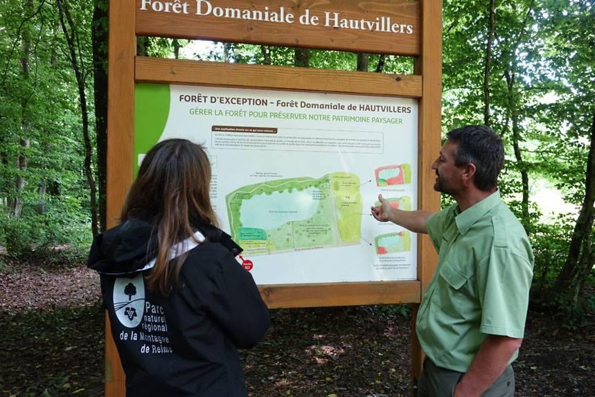 Inauguration de sentier du pic bois ©PNRMR
