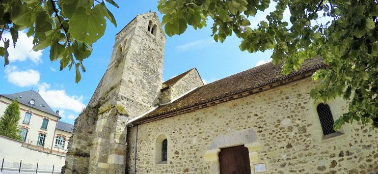 Église romane de Cuchery ©PNRMR