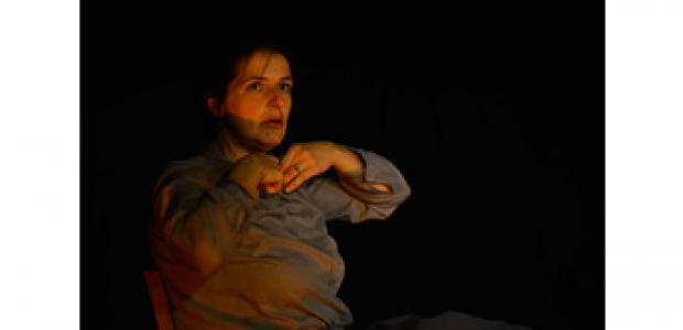 """Théâtre """"Machinerie"""" interprété par Elodie Cotin"""