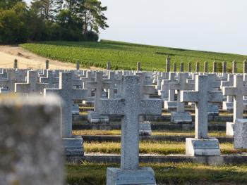 Cimetière militaire de Bligny ©PNRMR